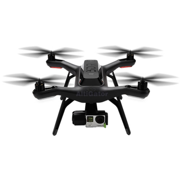 SOLO 3DRobotics® and 3-axis gimbal for GoPro