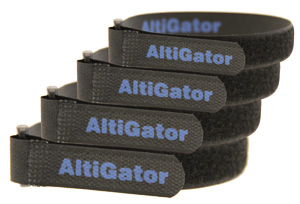 Set of 4 Velcro straps - 330mm