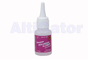 Fast setting thin liquid glue - 20gr