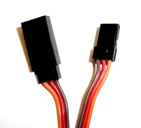 Servo extension cable 25 cm