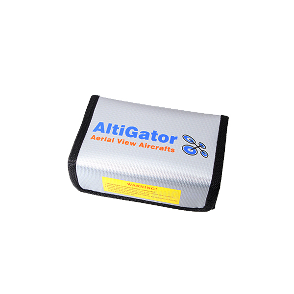 Etui de protection pour batteries LiPo 15 x 9.4 x 4.6 cm