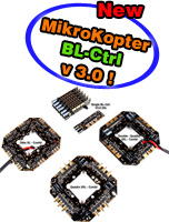 New speed controllers BL-Ctrl v3.0