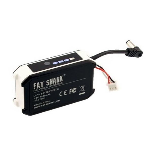 Battery for FatShark FPV video goggles