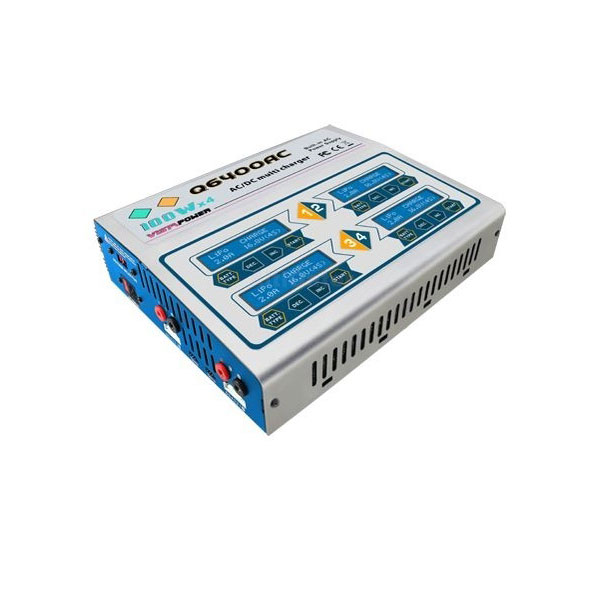 Chargeur de batteries CQ3 - 4 x 100 Watts DUAL power