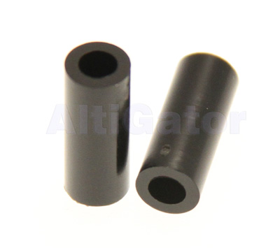 Spacer 3x15mm black (plastic)