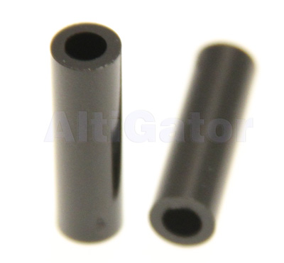 Spacers 3x20mm black (plastic)