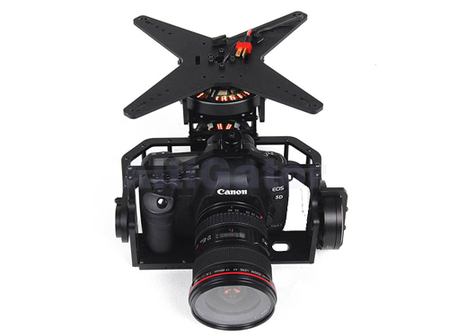 3 axis brushless camera gimbal for Canon 5D - ready to use