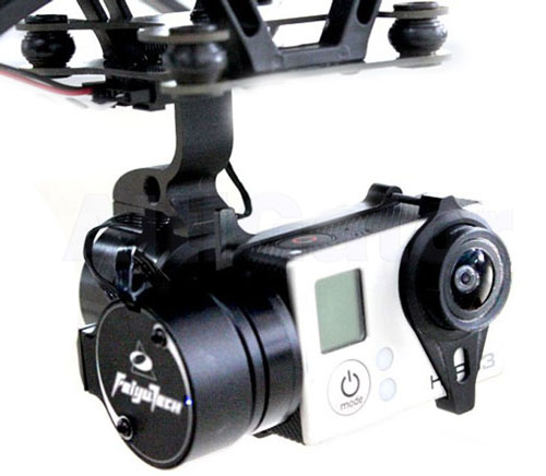 FeiYu-Tech G3 gimbal for GoPro3