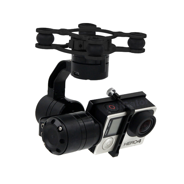 DYS 3-Axis gimbal for GoPro3, GoPro3+ and GoPro 4