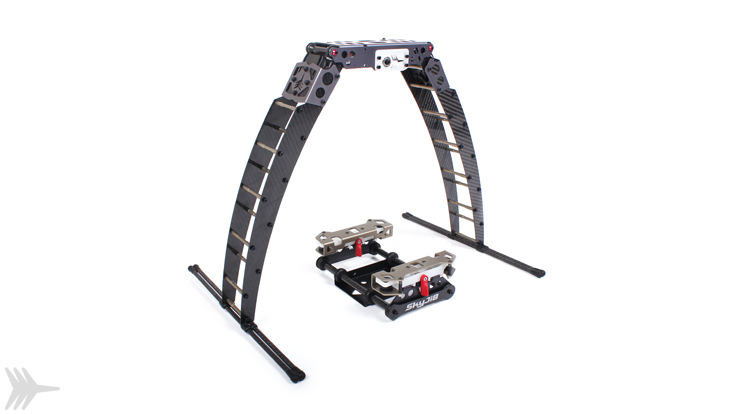 Retractable landing gear for SkyJib-8