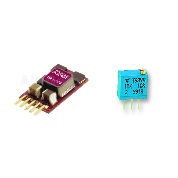 Traco DC/DC adjustable voltage regulator 5-15V/3A TSR 3-24150