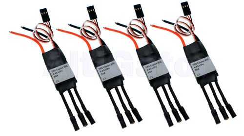 Set of 4 TBS 4-6S ESC LR