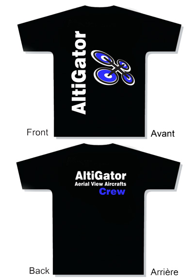 T-Shirt AltiGator Crew - Taille: Medium