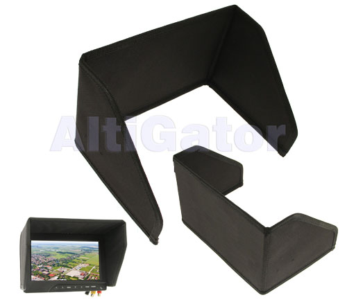 Sunshade for 10'' monitor