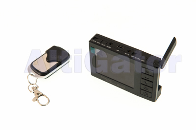 Mini video recorder with 2.4'' monitor and 5.8GHz receiver
