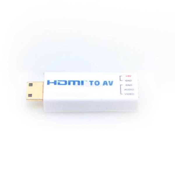 Tiny HDMI to analog video converter