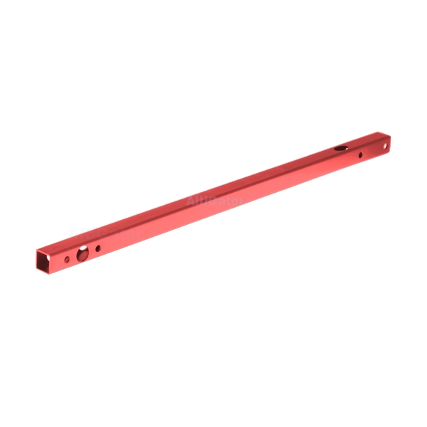 Tube aluminium MK-Hexa XL ROUGE (355 mm)