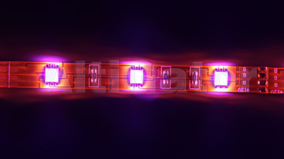 LED stripe PINK Ultra Power (flexible, water resistant)