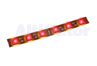 LED stripe RED Hi-Power (flexible, water resistant)