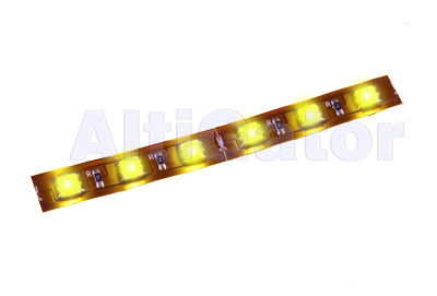LED stripe YELLOW Hi-Power (flexible, water resistant)