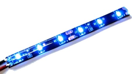 LED stripe BLUE (flexible, water resistant)