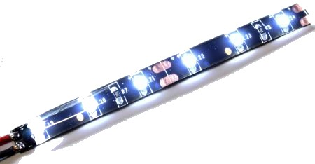 LED stripe WHITE (flexible, water resistant)