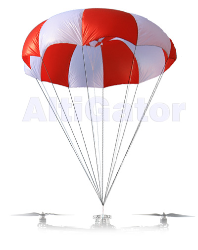 Rescue Parachute for Multirotor up to 12Kg (69J)