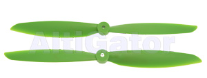 Propeller pair 1345 FC - Green color