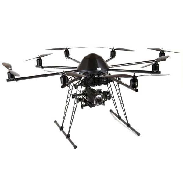 Mikrokopter® ARF Okto XL 6S12 - Pre-assembled drone with 8 rotors XL