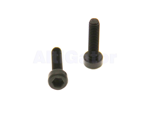 Black INOX screws M2.5x8 (pan head)