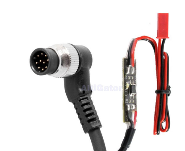 Shutter cables & camera control in: FPV & Telemetry
