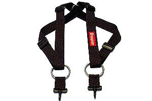 Graupner cross-over strap for transmitters
