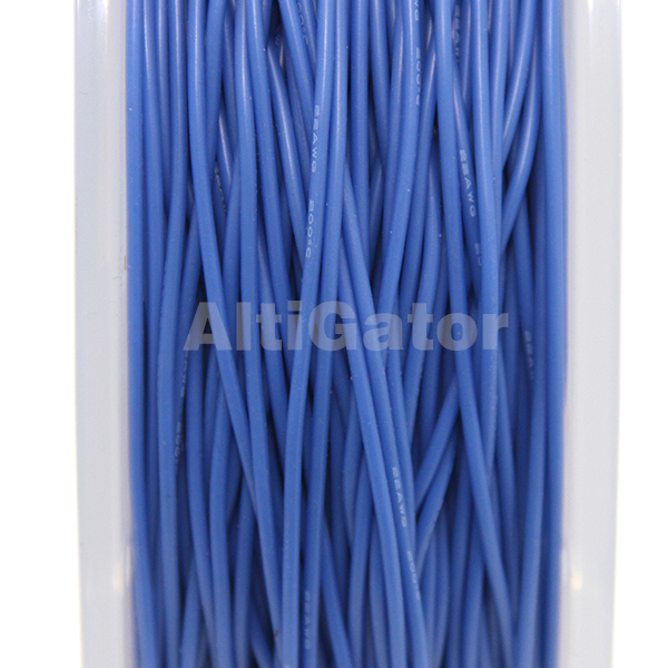 Silicone cable - 22AWG / 0.33mm² Blue