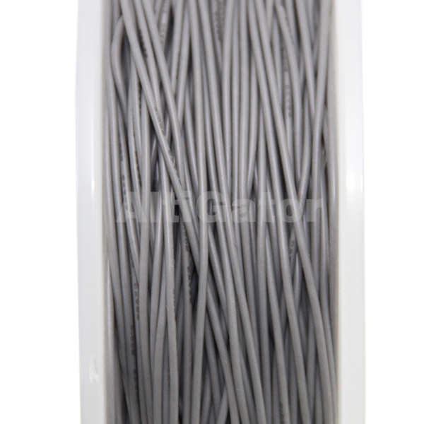 Silicone cable - 22AWG / 0.33mm2 Gray