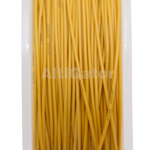Silicone cable - 22AWG / 0.33mm² Yellow