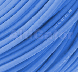 Silicone cable - 17AWG / 1mm² Blue