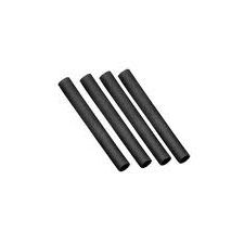Heat shrink tube black 4mm - 1m